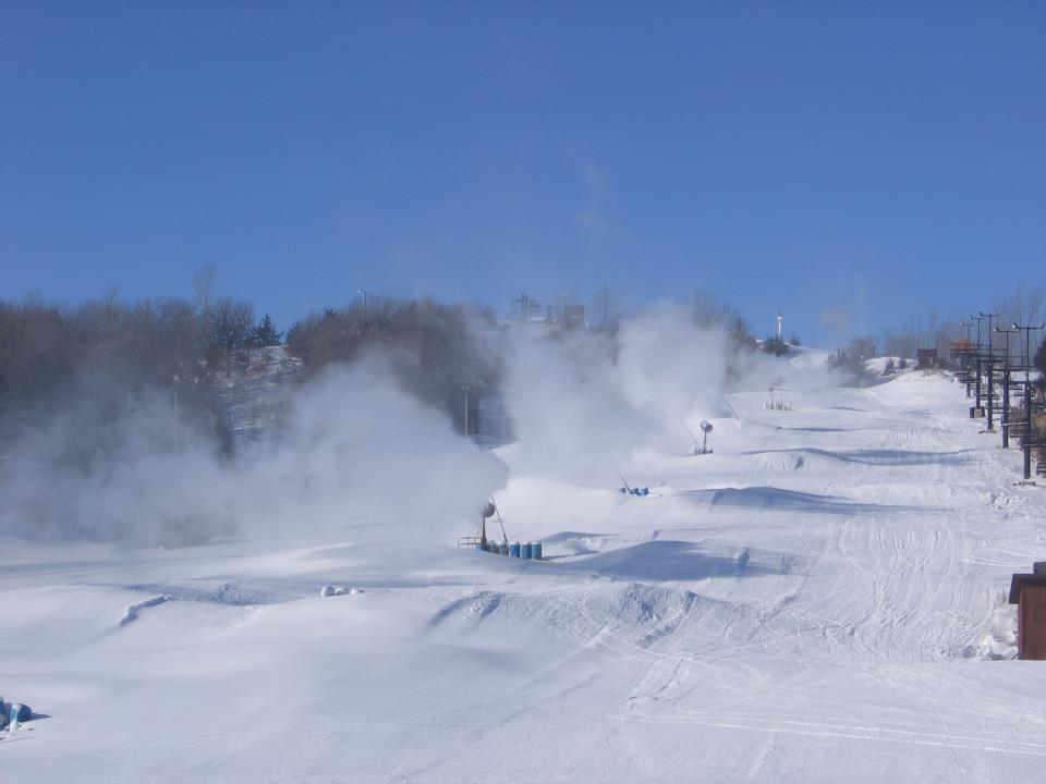 Snow Making at Mt. Crescent Ski Area