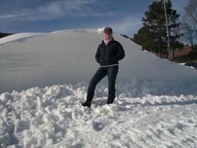 Snowmaking at Mt. Crescent Ski Area