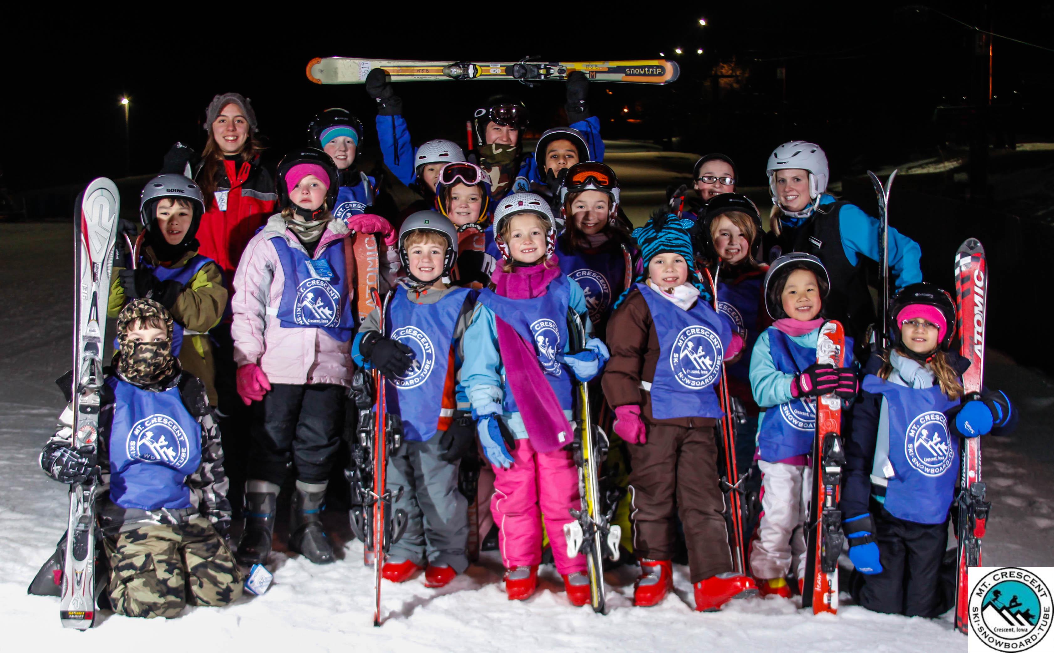 Ski Instructors at Mt. Crescent Ski Area